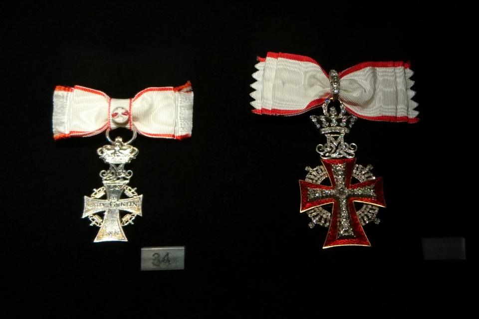 Ордена Данеброг датской принцессы Бенедикта