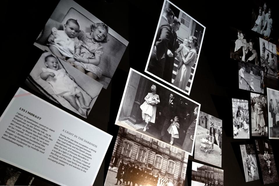 Фотографии маленьких принцесс Маргрете и Бенедикте