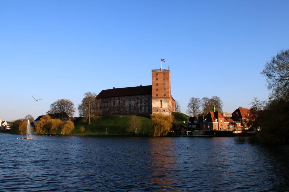 Старинный замок Колдингхус, протектором которого является датская принцесса Бенедикта