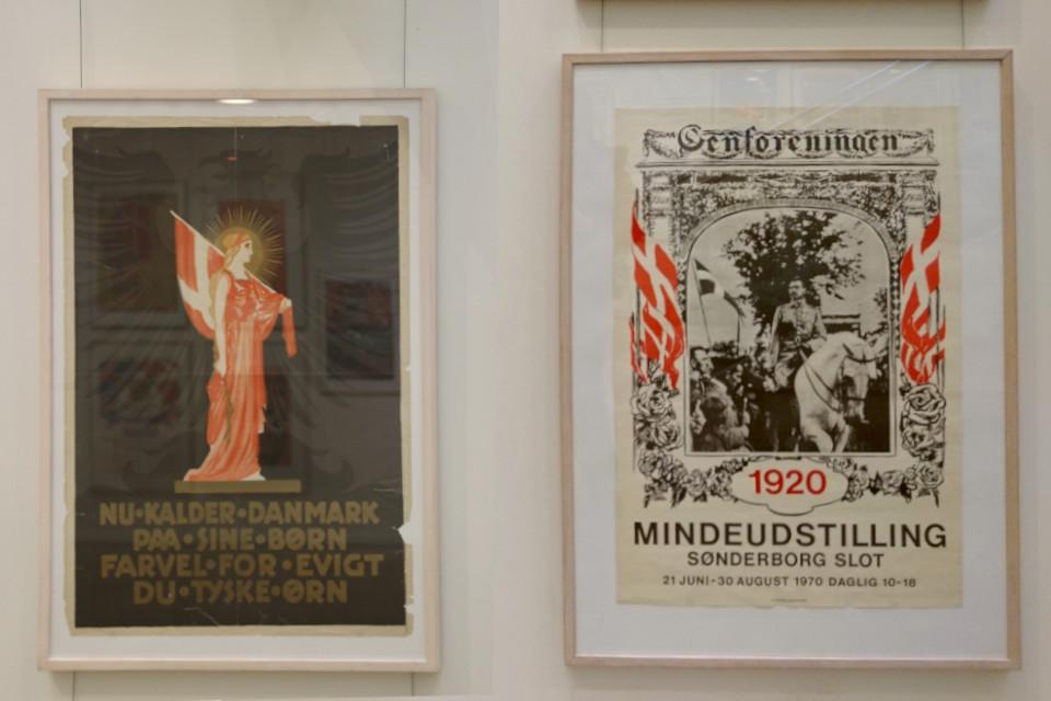 Плакаты, посвященные воссоединению Дании в Шлезвиг
