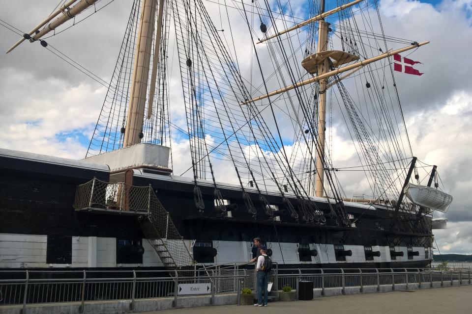 Военный фрегат Юлланд (Fregatten Jylland)