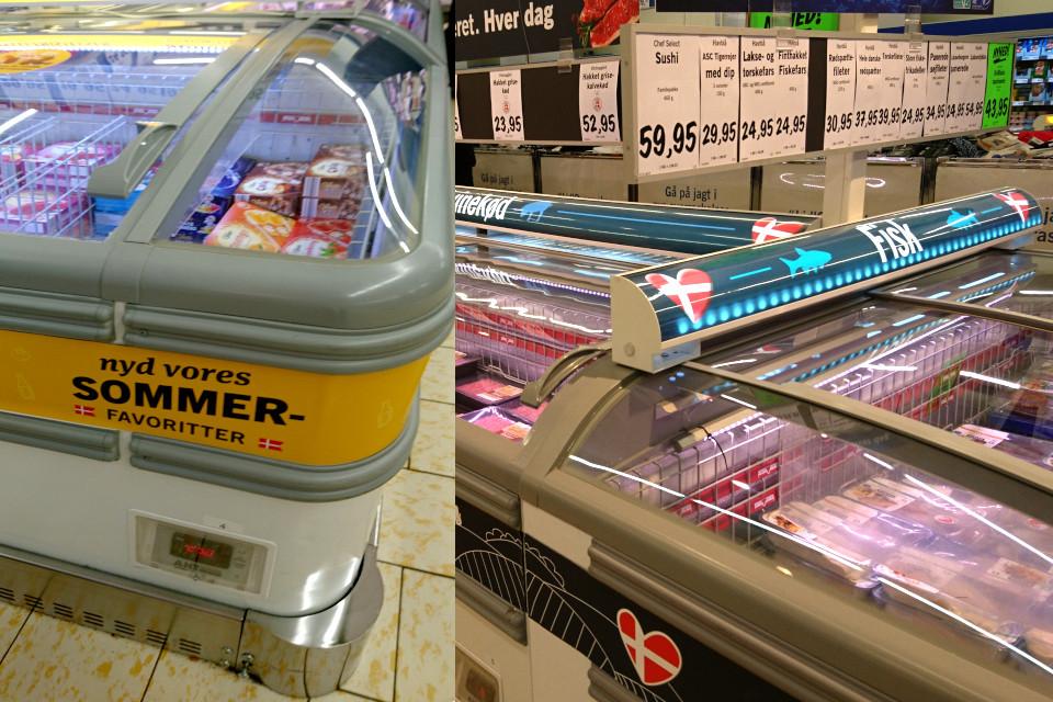 Немецкий супермаркет Лидл в Дании