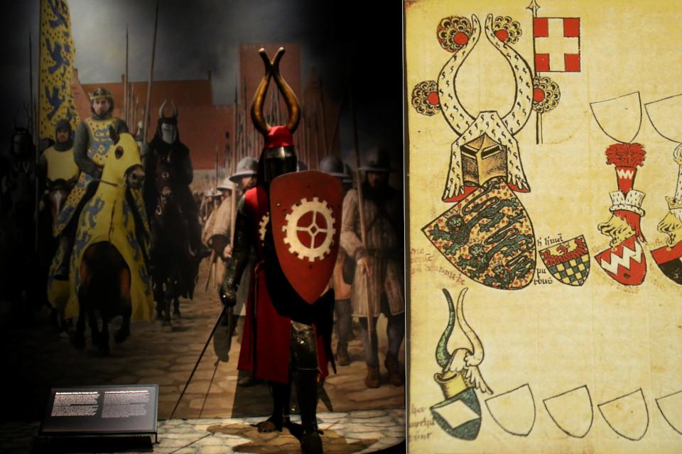 крестоносцы на выставке в музее Моесгор / Moesgaard museum