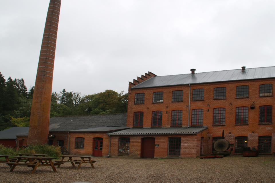 Производственные корпуса старой фабрики Брунсхоб (Bruunshaab Gl. Papfabrik)