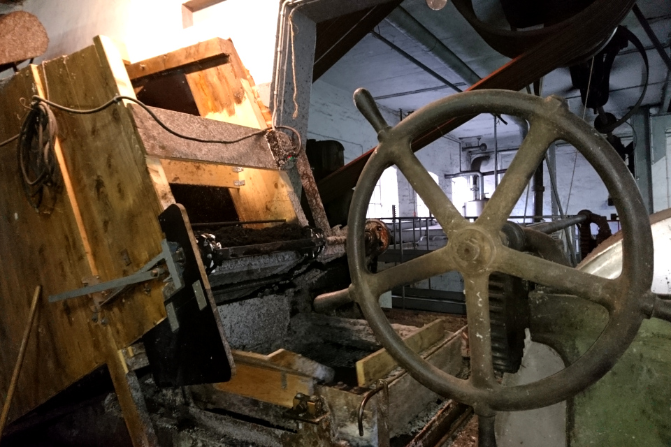 Голландер на фабрике Брунсхоб (Bruunshaab Gl. Papfabrik)