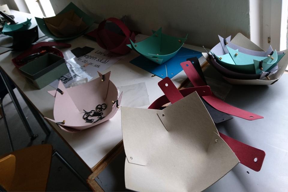 Лотки и приспособления для самосбора на фабрике Брунсхоб