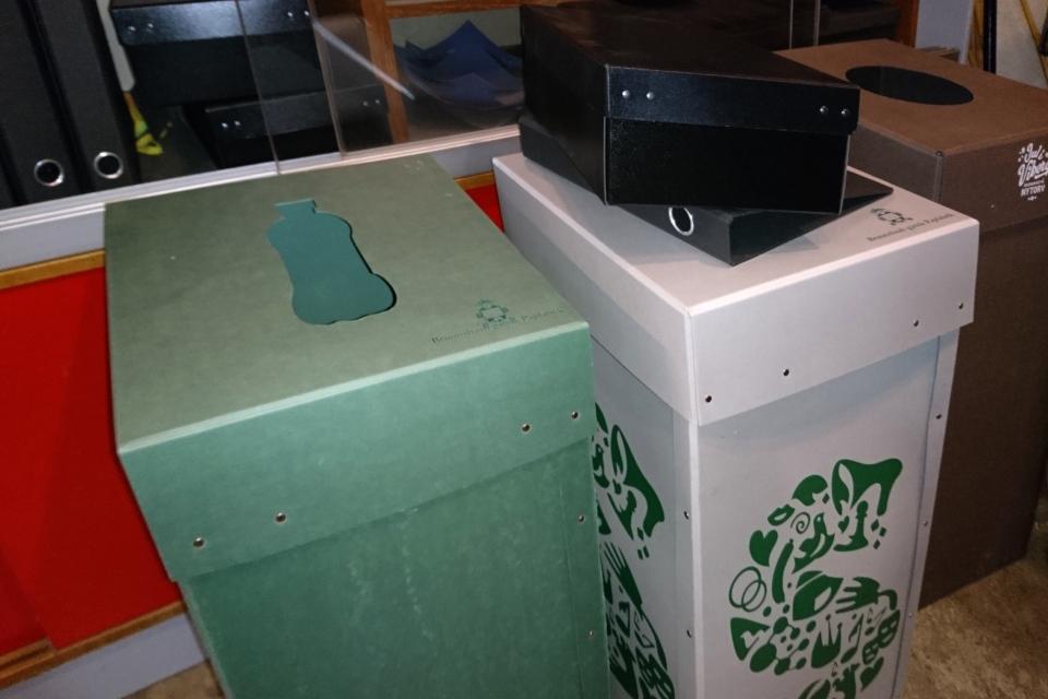 Другие виды одноразовых коробок для бутылок