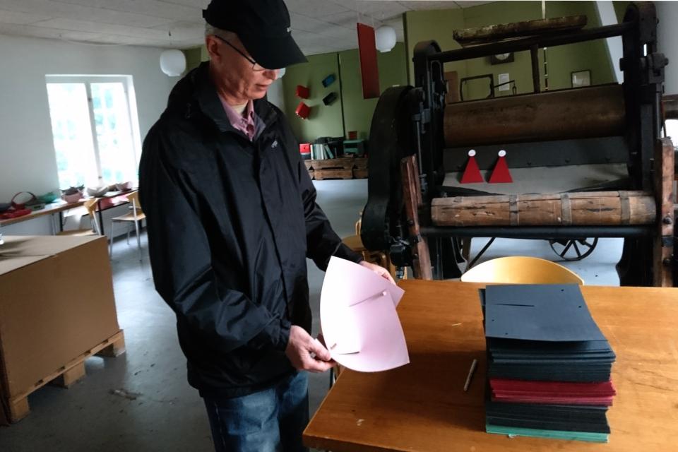Лотки из картона, изготовленного на фабрике Брунсхоб
