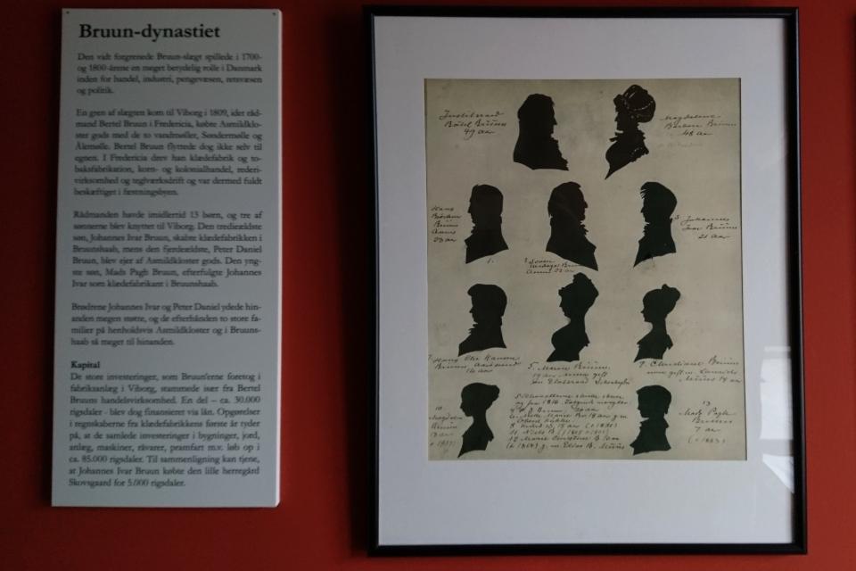 Профиля некоторых представителей династии Брунс в музее фабрики Брунсхоб