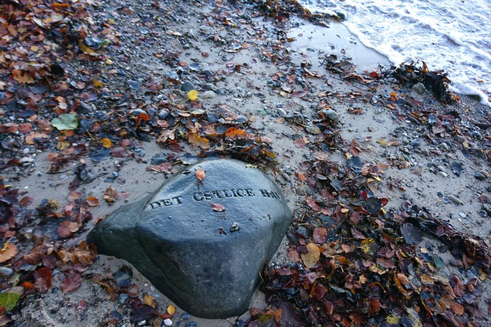 Лунный камень Восточное Море (дат. Det Østlige Hav)