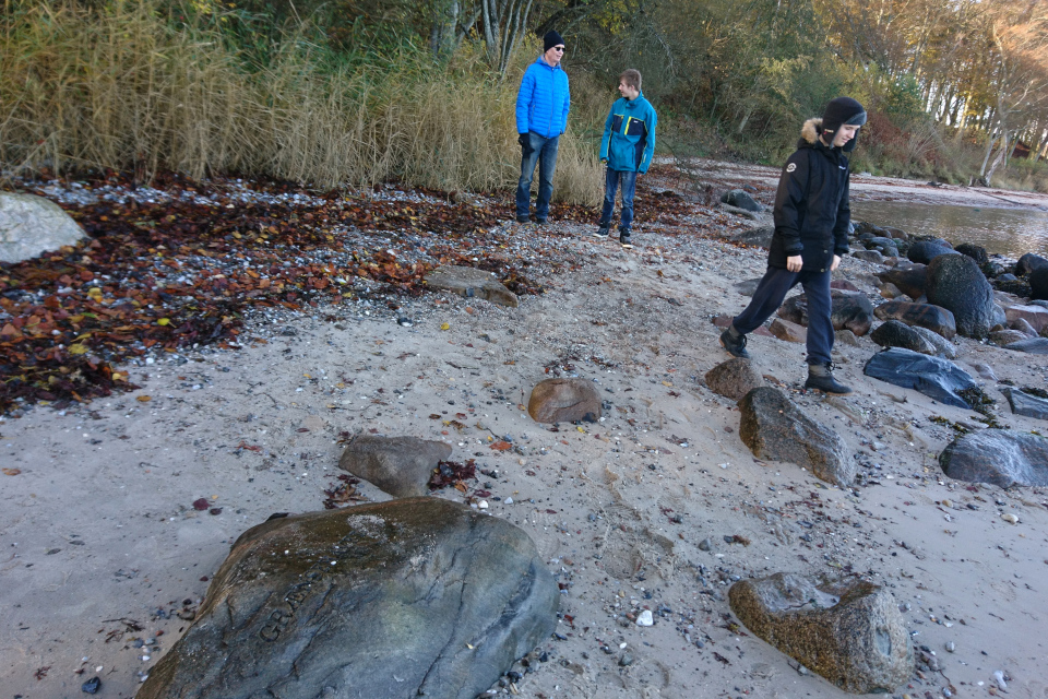 Лунный камень под названием Море Краевое (дат. Grænsehavet)