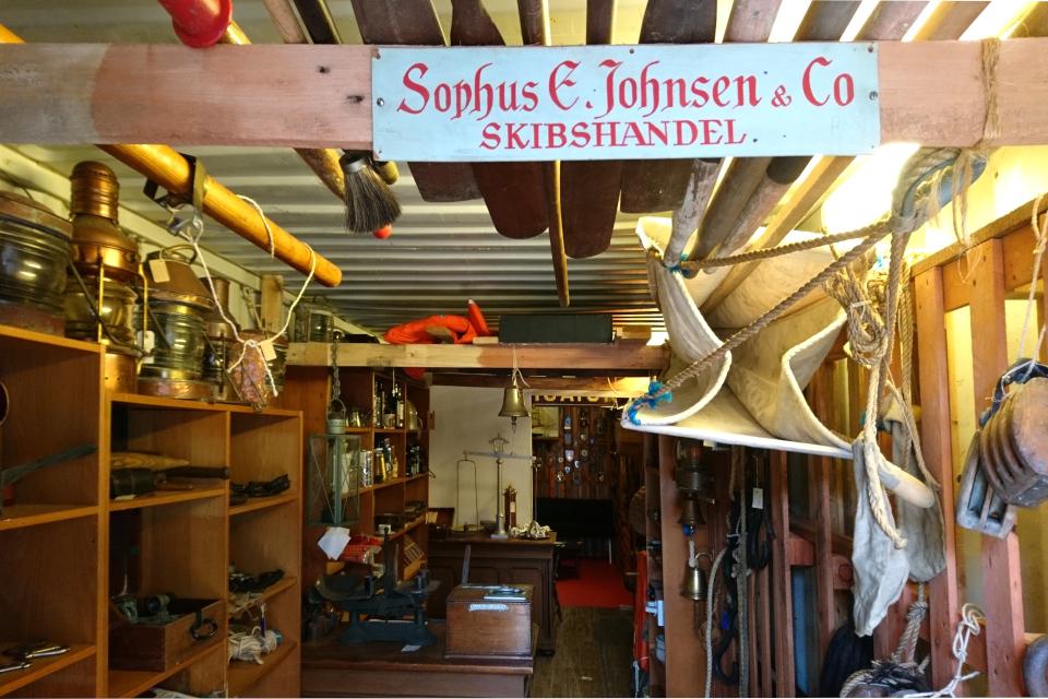 магазин по продаже судовых принадлежностей, Aarhus Søfarts Museum
