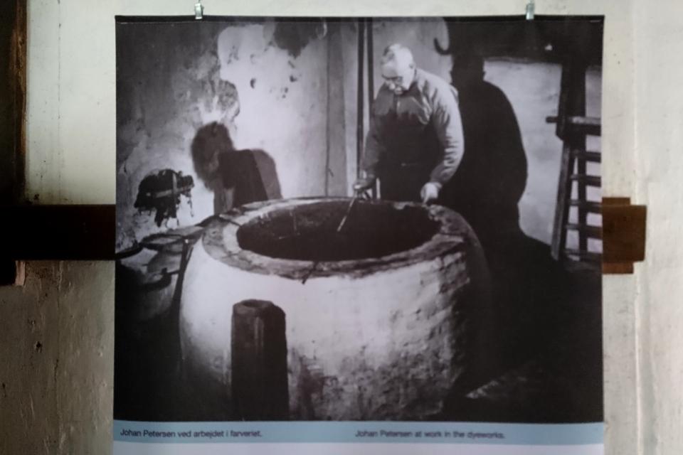 Плакат с фотографией Йохана Петерсена, сделанной в 40 х годах