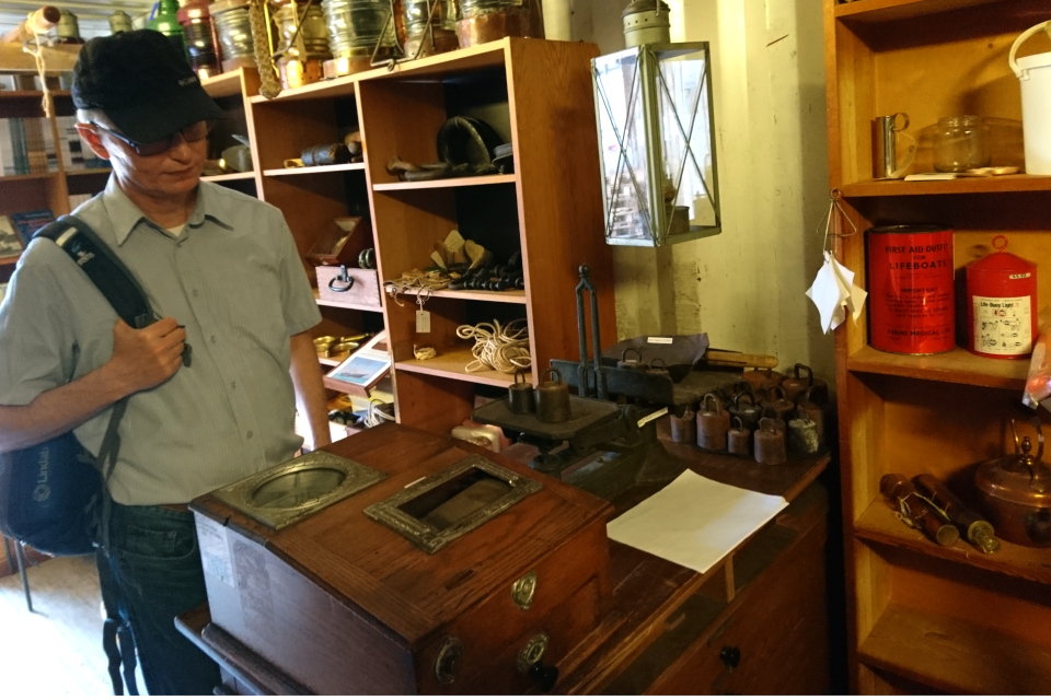 Старый кассовый аппарат, Aarhus Søfarts Museum, г. Орхус, Дания