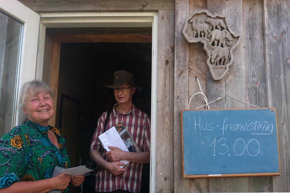 Дом открытых дверей в экопоселении Фриланд / Friland, Дания