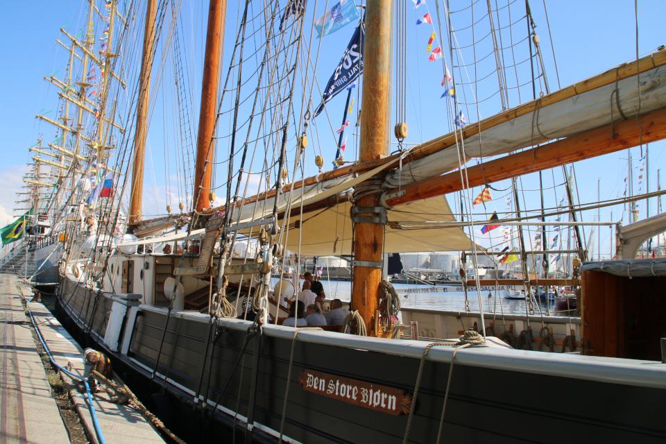 """Датский """"Большой медведь"""" (Den Store Bjørn) - деревянный корабль,"""