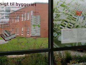 Озеленение территории Орхусской больницы
