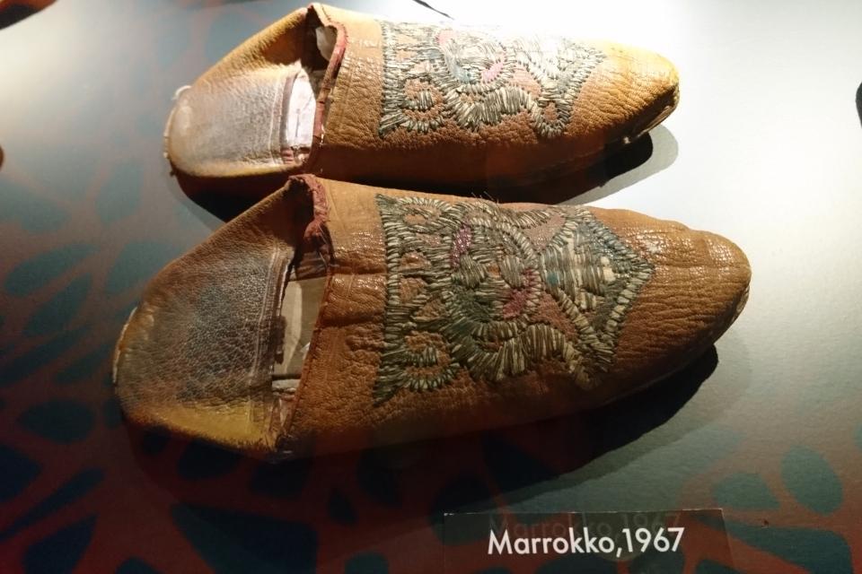 Бабуши- традиционная марокканская обувь из натуральной мягкой кожи без задников