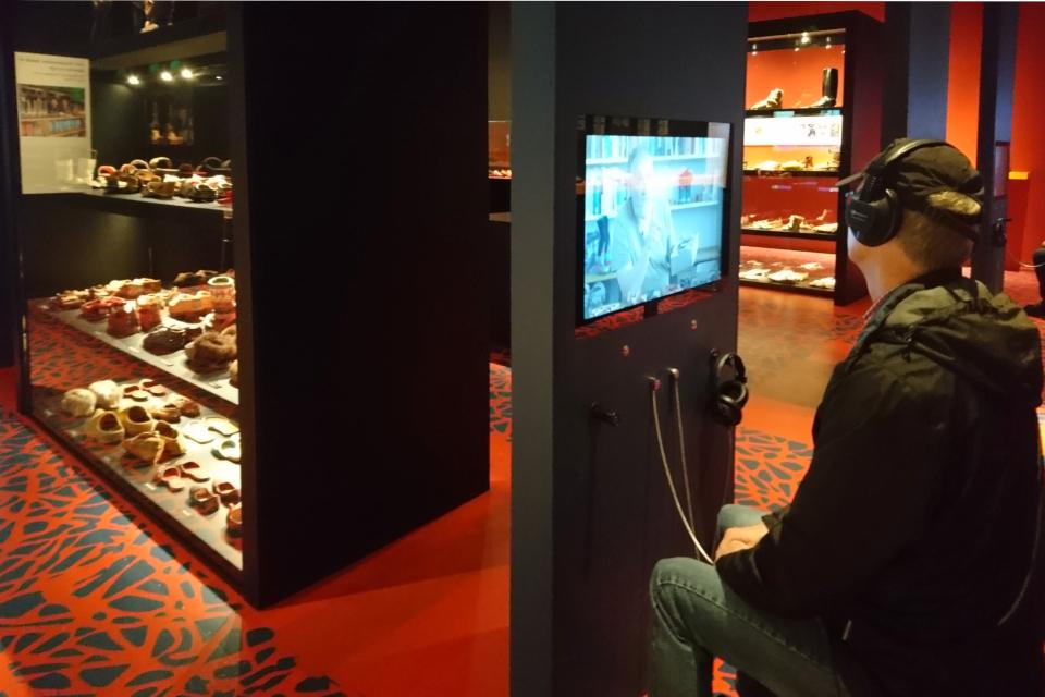 Видеорассказы на выставке обуви, Мосгорд, Дания