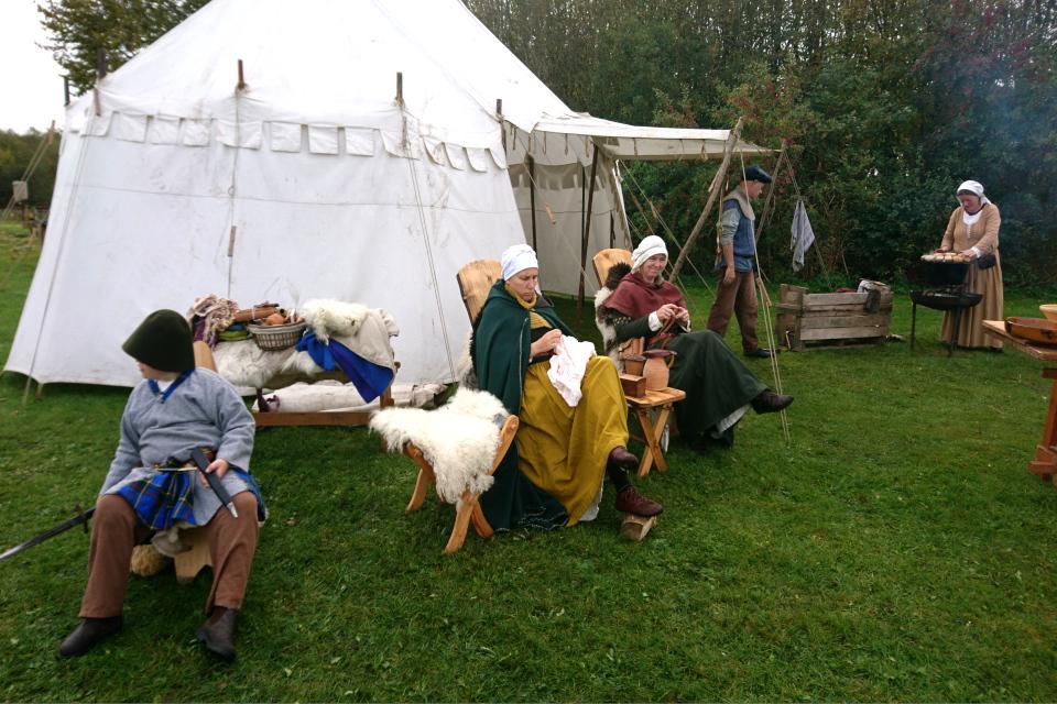 Средневековый фестиваль в монастыре Витскол, 13окт. 2019, Дания
