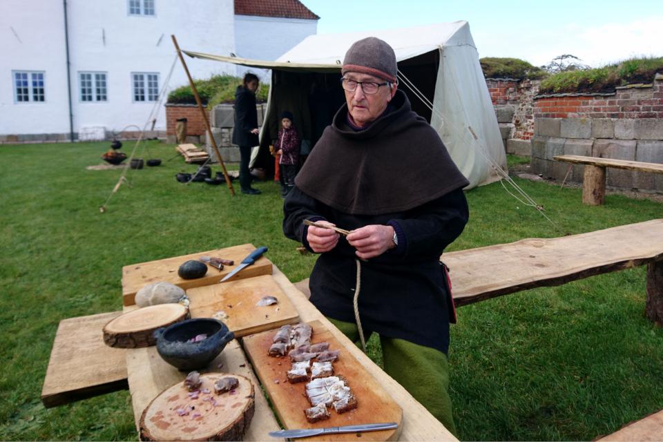Jens Østergaard, Средневековый фестиваль в монастыре Витскол 12ок.2019, Дания