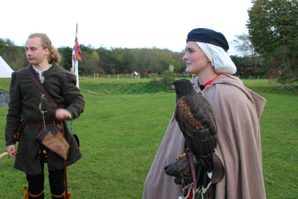 Mia & Søren Dalsgaard. Средневековый фестиваль в монастыре Витскол