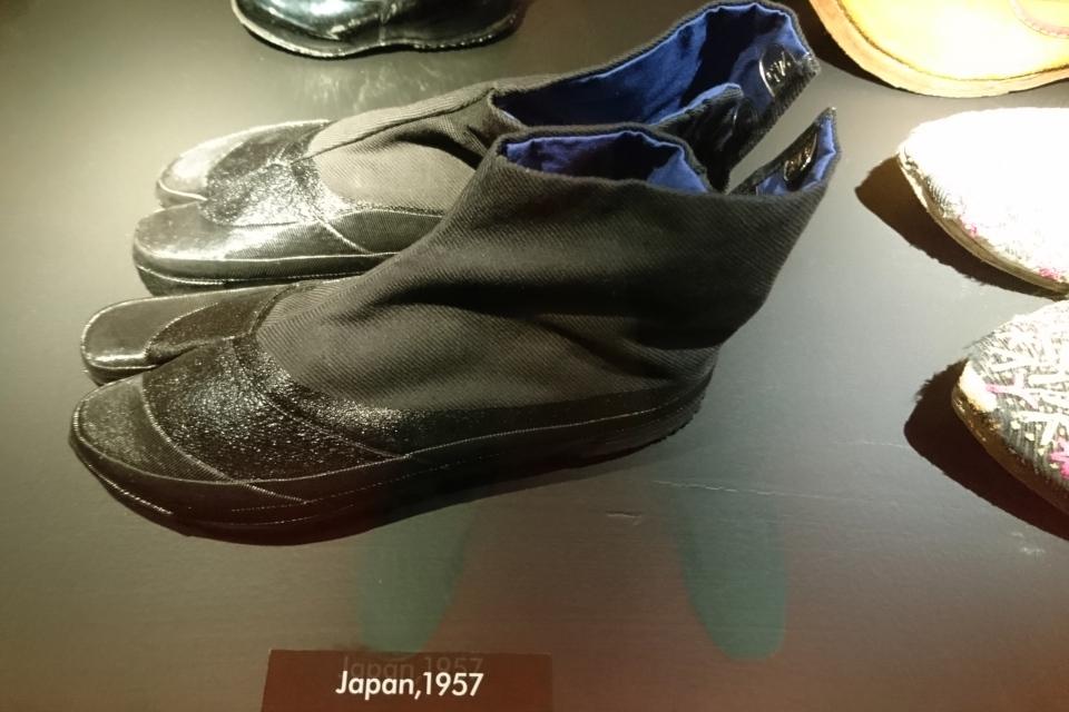 Таби - японская обувь с разделенным большим пальцем