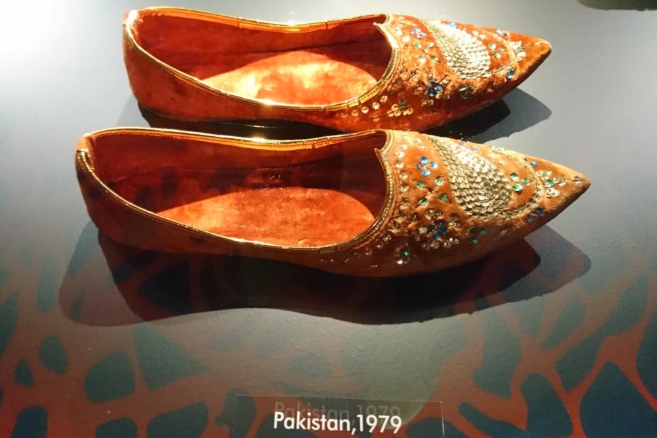 Обувь с длинным носом из Пакистана (1979 г.)