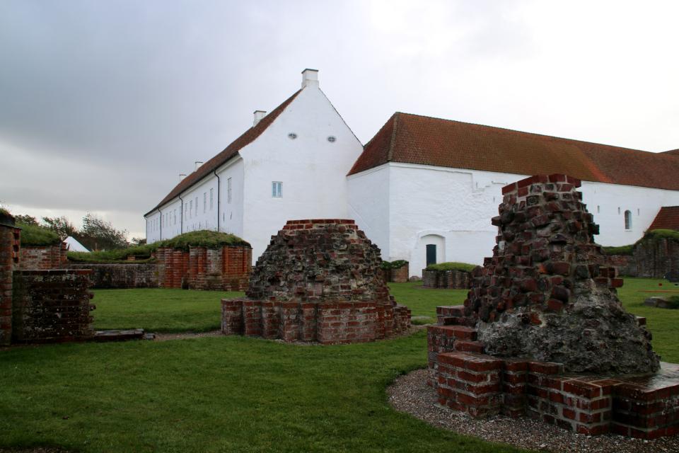 руины монастыря Витскол, Vitskøl kloster