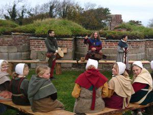 Средневековый фестиваль в монастыре Вицкол