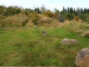 Курган и каменные ряды Мурхой