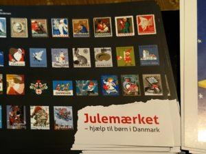 Рождественские почтово-благотворительные марки в Дании