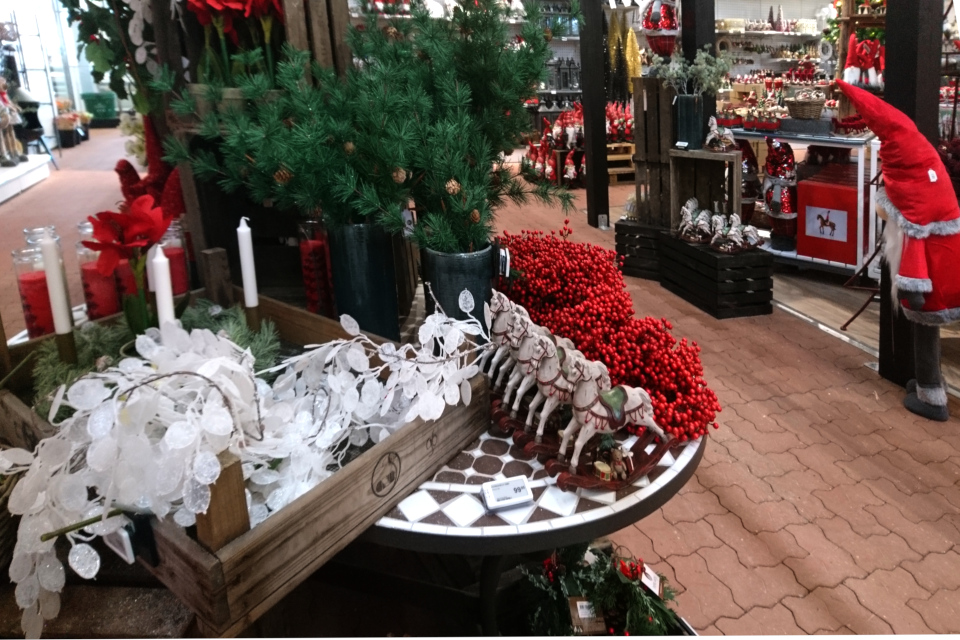 Рождественский базар в Plantorama. 22 окт. 2019, Дания