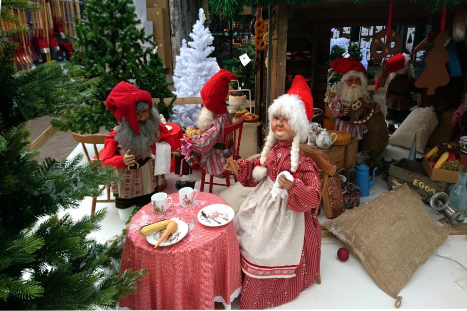 Рождественский базар в Plantorama, ниссе. 22 окт. 2019, Дания