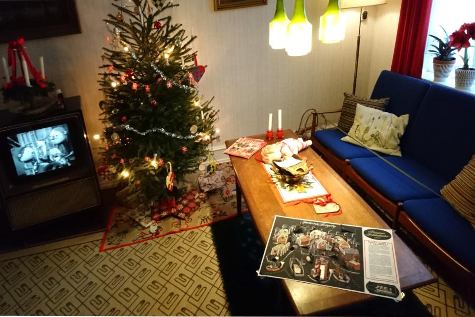 """ТВ рождественский календарь """"Jullerup Færgeby"""", Дания"""