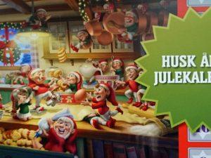 Рождественский календарь в Дании