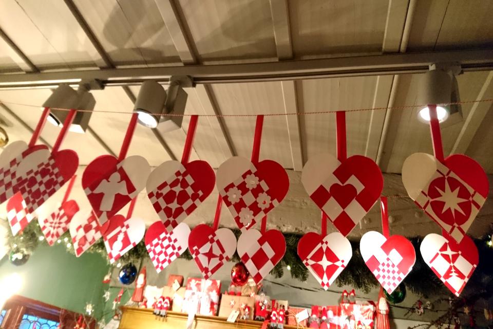 Рождественские сердечки, Дания