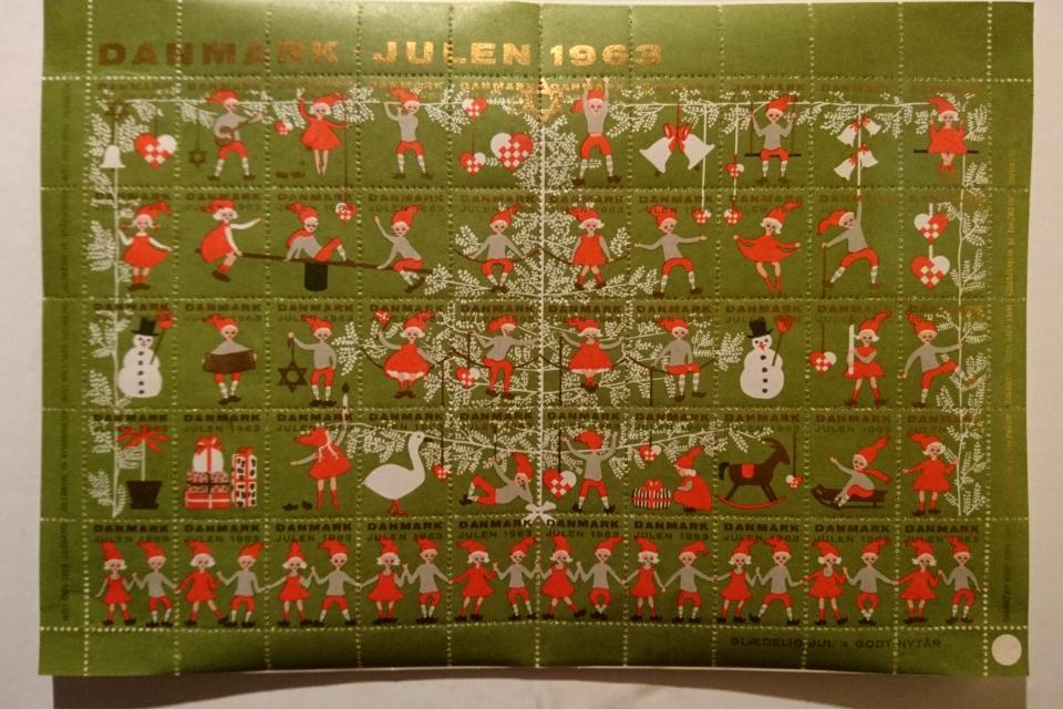 Рождественские почтово-благотворительные марки 1963 года