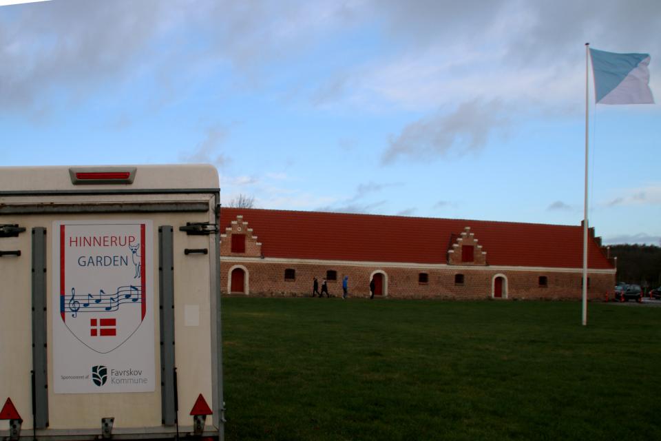 Транспортный вагончик духового оркестра Hinnerup Garden