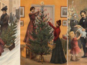 Рождество в Дании 1902