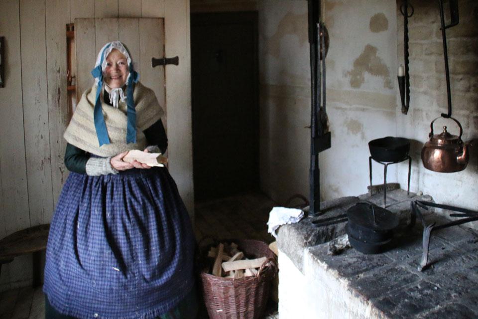 Старая кухня 30 дек. 2016, музей Старый Город, г. Орхус / Aarhus, Дания
