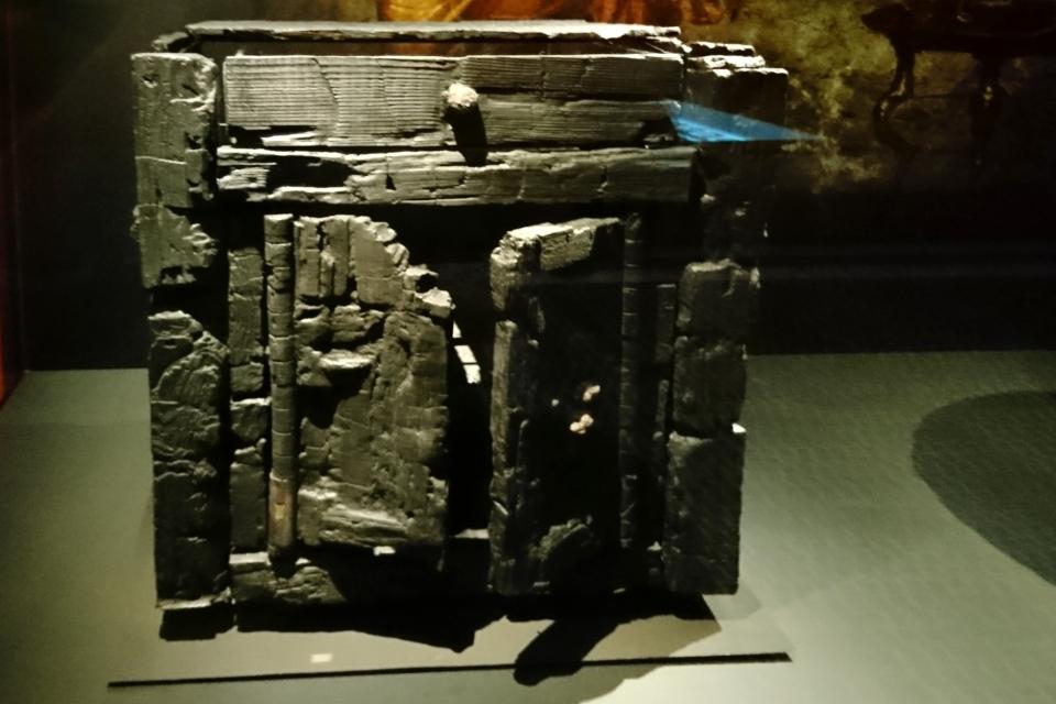 Шкаф с ящиком и дверцами, Геркуланум, 1 век н.э.